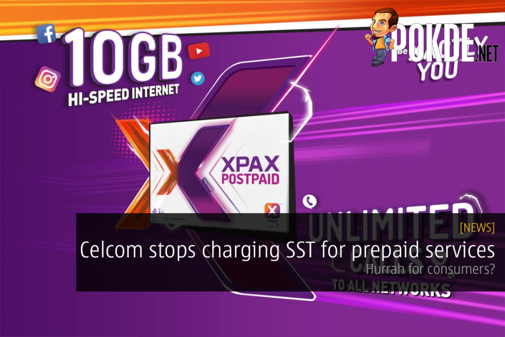 Celcom stops charging SST for prepaid services — hurrah for consumers? 34