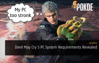 Devil May Cry 5 PC System Requirements Revealed