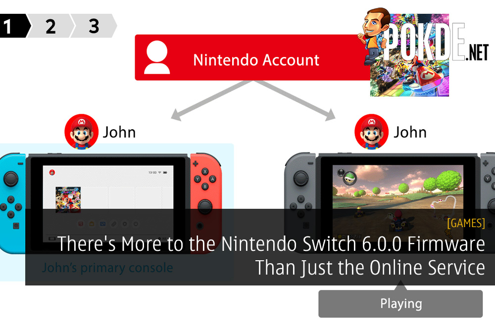 There's More to the Nintendo Switch 6.0.0 Firmware Than Just the Online Service