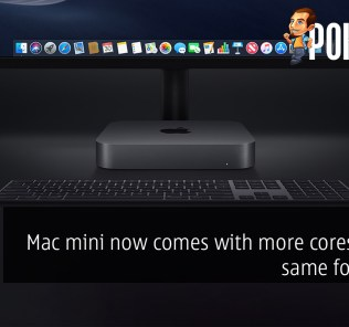 Mac mini now comes with more cores in the same footprint — offers four Thunderbolt 3 ports! 28