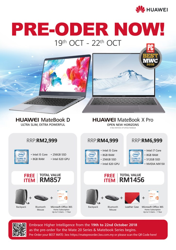 HUAWEI MateBook X Pro And MateBook D Now Available For Preorder 17