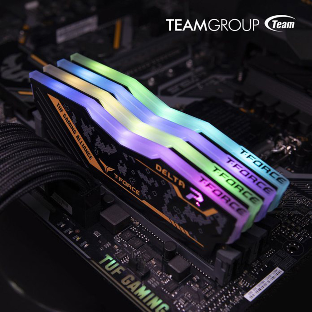TEAMGROUP Teams Up With ASUS — Releases T-FORCE DELTA TUF