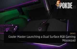 Cooler Master Launching a Dual Surface RGB Gaming Mousepad