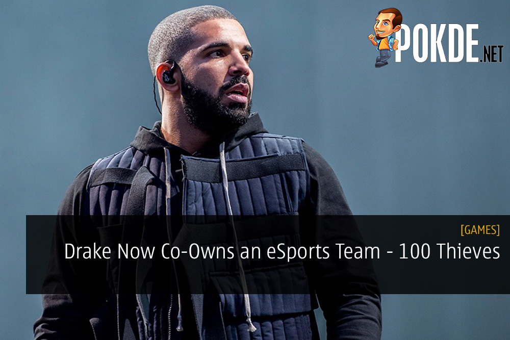 Drake Now Co-Owns an eSports Team - 100 Thieves