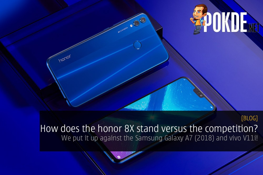 How does the honor 8X stand versus the competition? We put