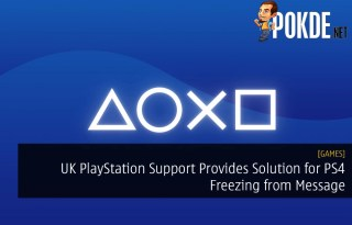 UK PlayStation Support Provides Solution for PS4 Freezing from Message