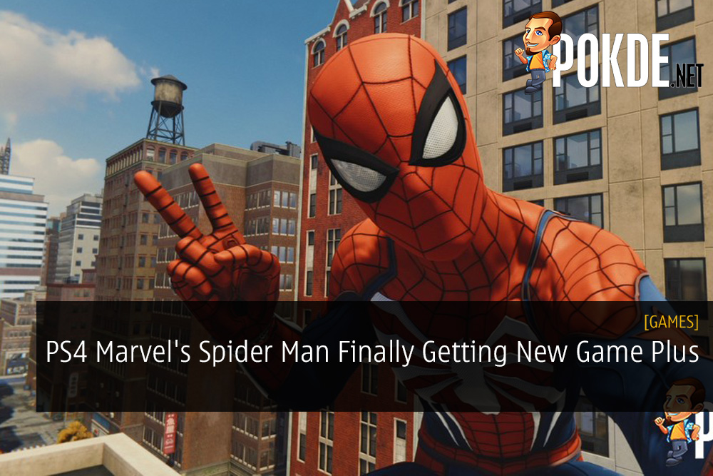 PS4 Marvel's Spider-Man Finally Getting New Game Plus