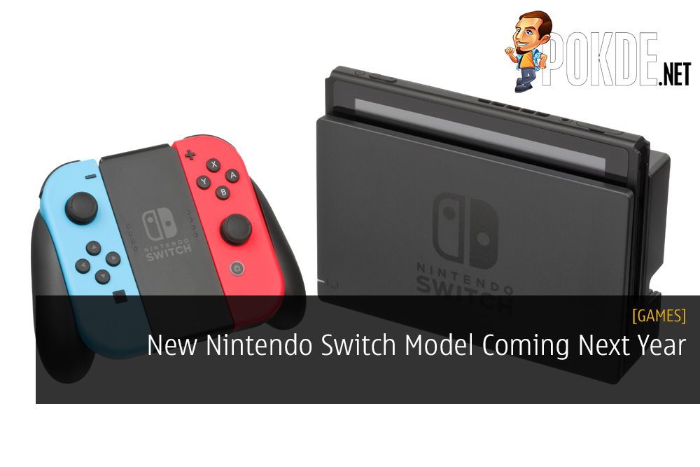 New Nintendo Switch Model Coming Next Year