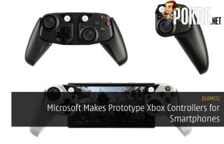 Microsoft Makes Prototype Xbox Controllers for Smartphones