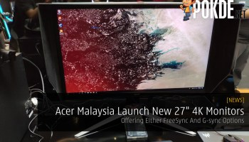 Acer Predator X35 Curved Gaming Monitor Coming Soon At RM9