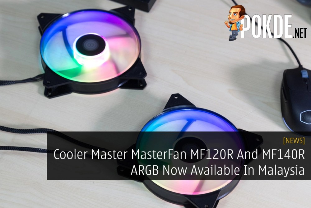 Cooler Master MasterFan MF120R And MF140R ARGB Now Available
