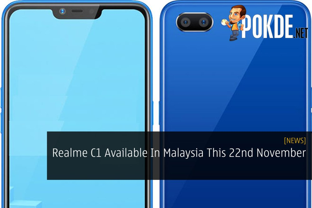 Realme C1 Available In Malaysia This 22nd November 17