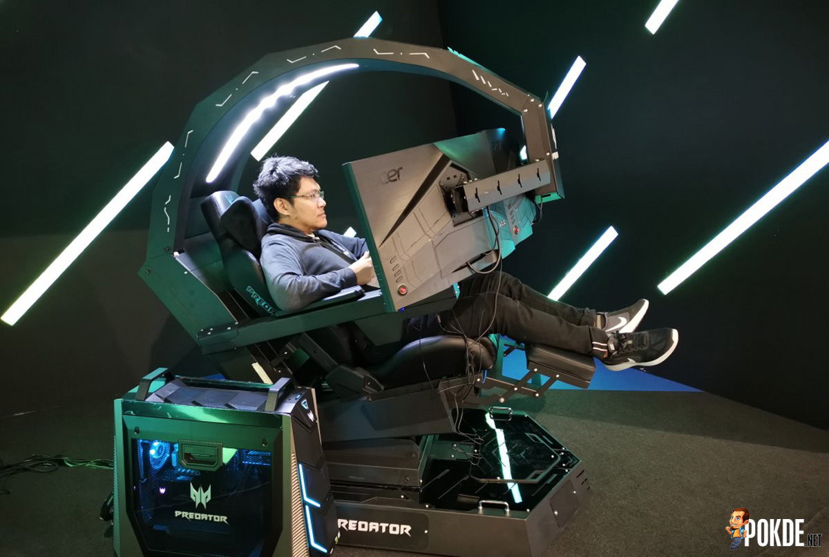 Hands On With The Acer Predator Thronos Gaming Chair A