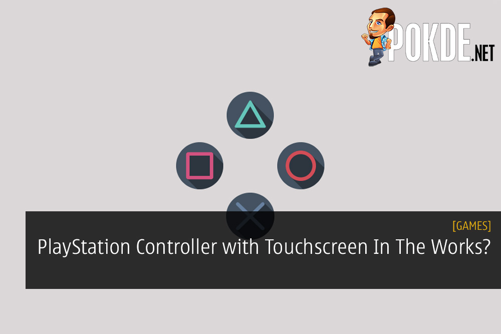 PlayStation Controller with Touchscreen In The Works? This Could Be
