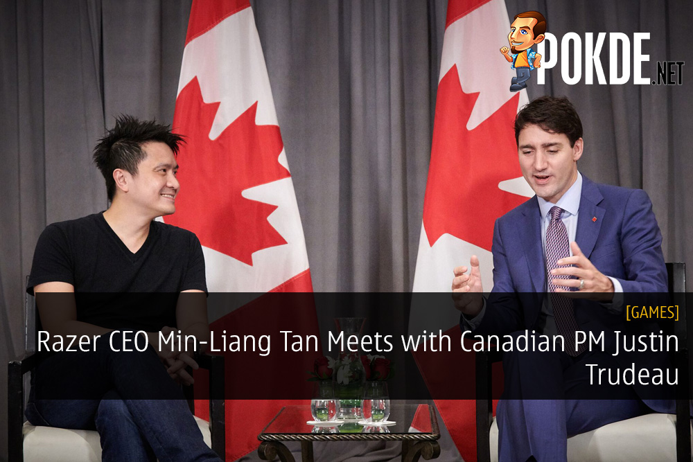 Razer CEO Min-Liang Tan Meets with Canadian PM Justin Trudeau