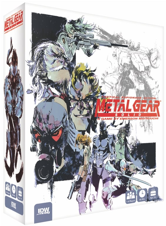 Metal Gear Solid Board Game is Real and It's Coming