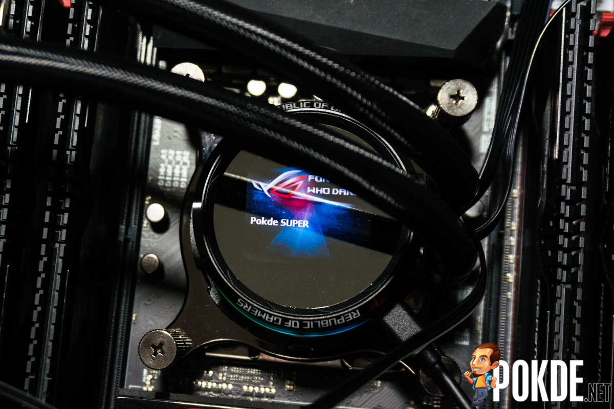 ROG Ryuo 240 AIO cooler review — smaller yet better! – Pokde