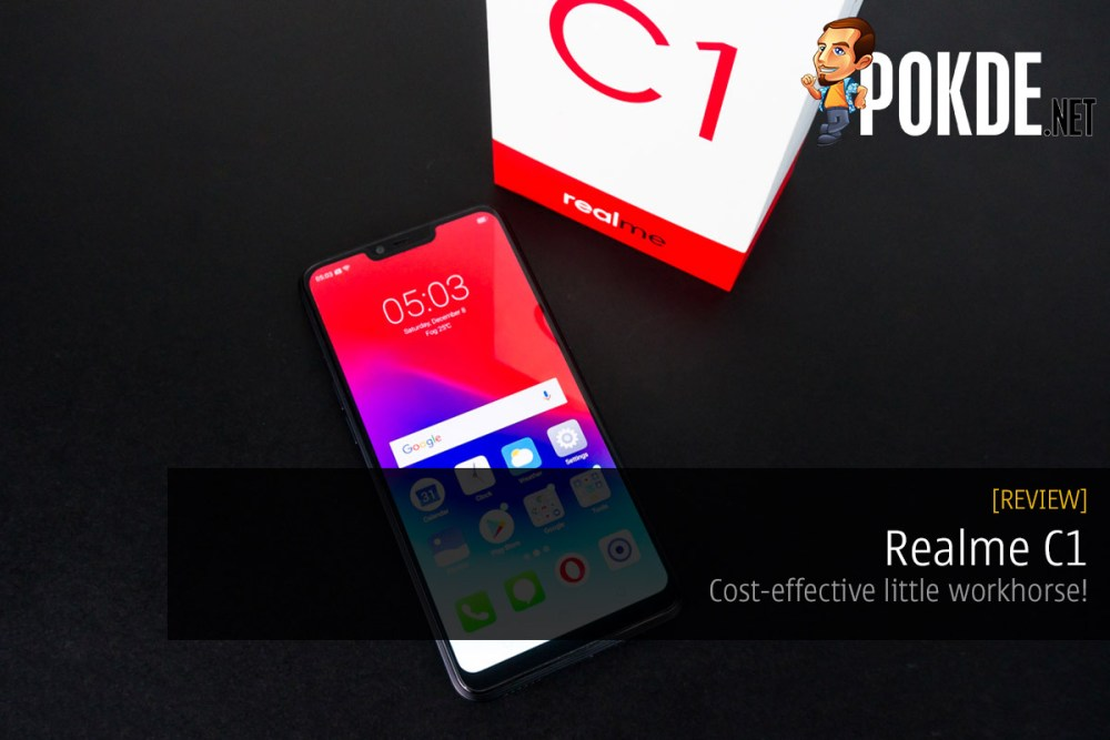 Realme C1 review — cost-effective little workhorse! 21