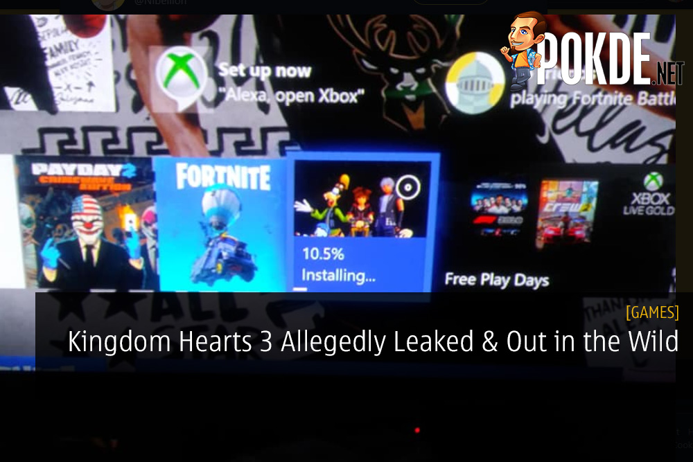 Kingdom Hearts 3 Allegedly Leaked and Out in the Wild