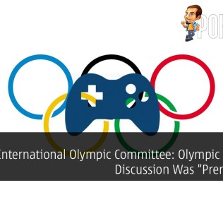 "International Olympic Committee: Olympic eSports Discussion Was ""Premature"""