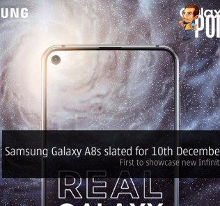 Samsung Galaxy A8s slated for 10th December launch — first to showcase new Infinity-O Display 25