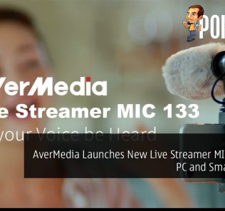 AverMedia Launches New Live Streamer MIC 133 for PC and Smartphone