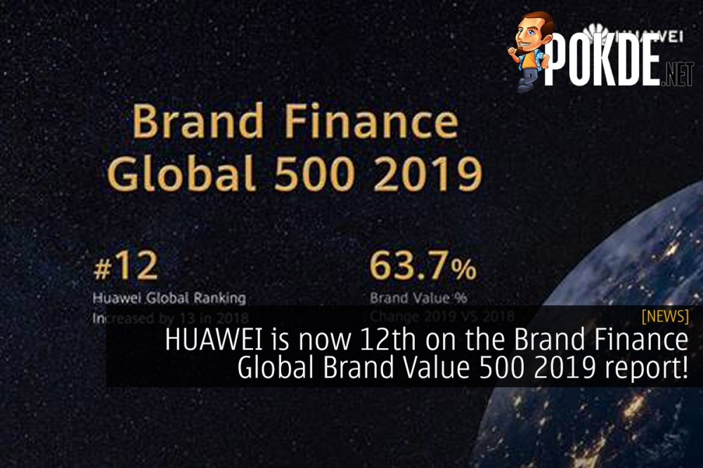 HUAWEI is now 12th on the Brand Finance Global Brand Value 500! 20