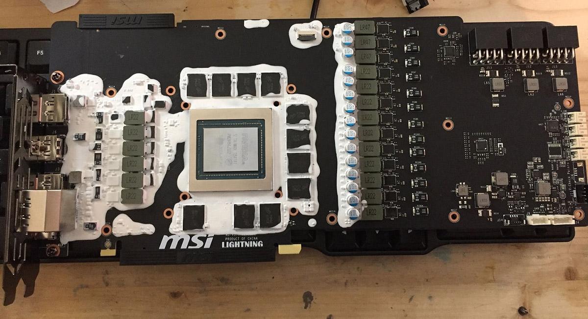 MSI GeForce RTX 2080 Ti Lightning Z overclocks to a whopping 2 45