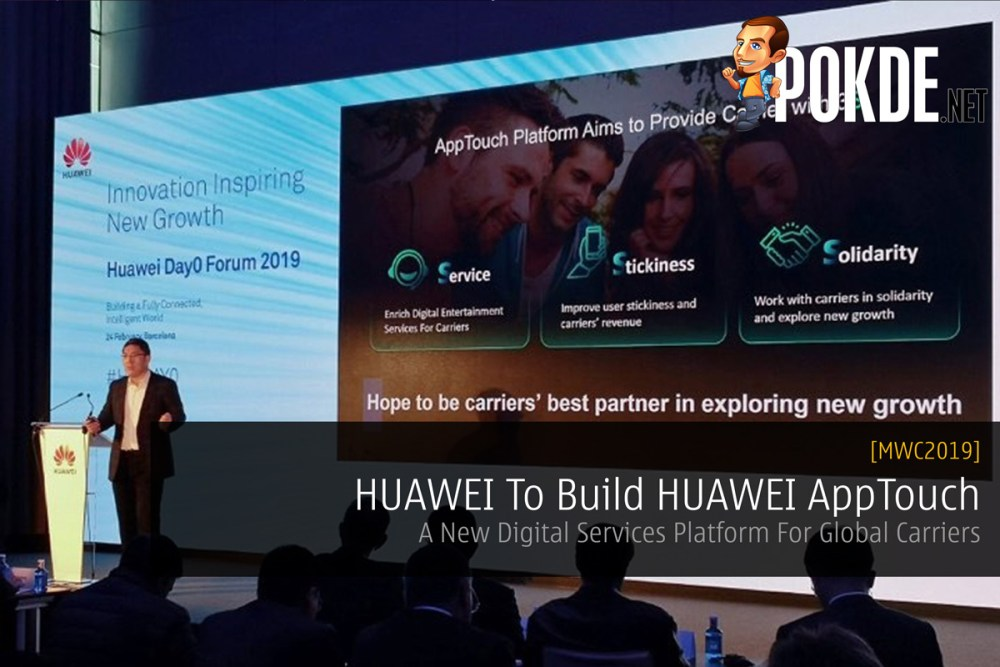 [MWC2019] HUAWEI To Build HUAWEI AppTouch — A New Digital Services Platform For Global Carriers 27