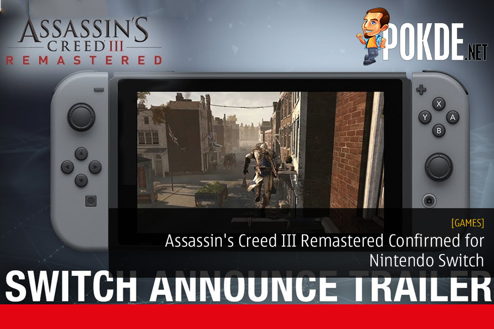 Assassin's Creed III Remastered Confirmed for Nintendo Switch