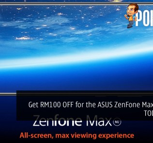 Get RM100 OFF for the ASUS ZenFone Max (M2) for TODAY ONLY
