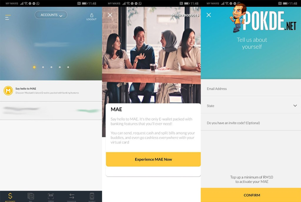 Maybank MAE eWallet Launched in Malaysia - Payments Made Easy – Pokde