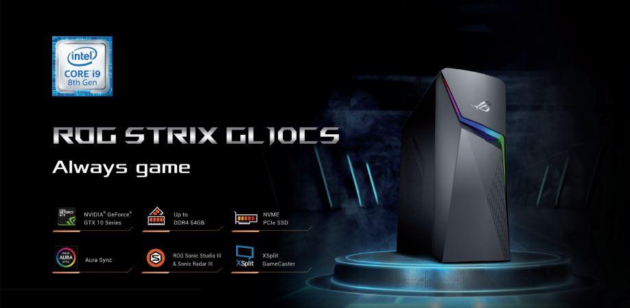ASUS Malaysia Launches ROG STRIX GL10CS