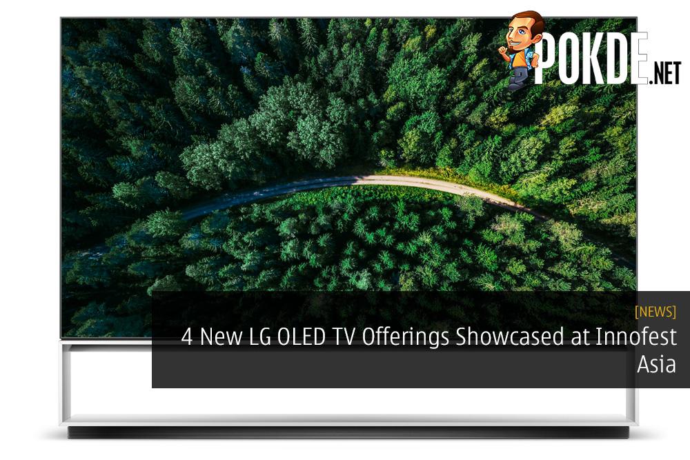 Four New LG OLED TV Offerings Showcased at Innofest Asia
