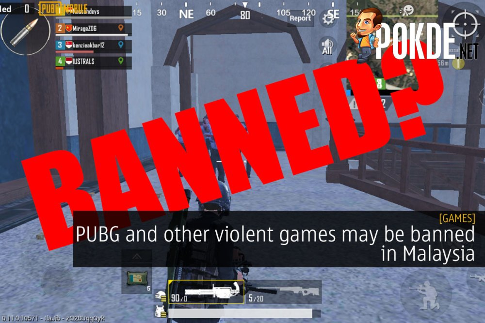 PUBG and other violent games may be banned in Malaysia 34