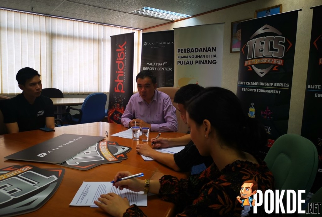The Elite Championship Series (TECS) Esports is Official: Biggest Esports Tournament in Penang