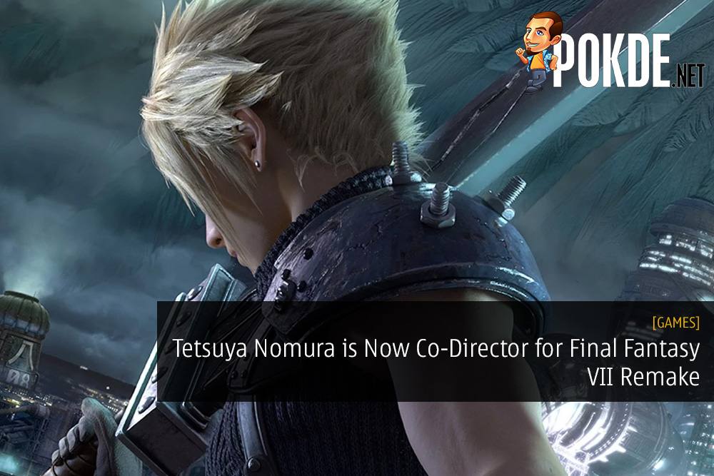 Tetsuya Nomura is Now Co-Director for Final Fantasy VII Remake