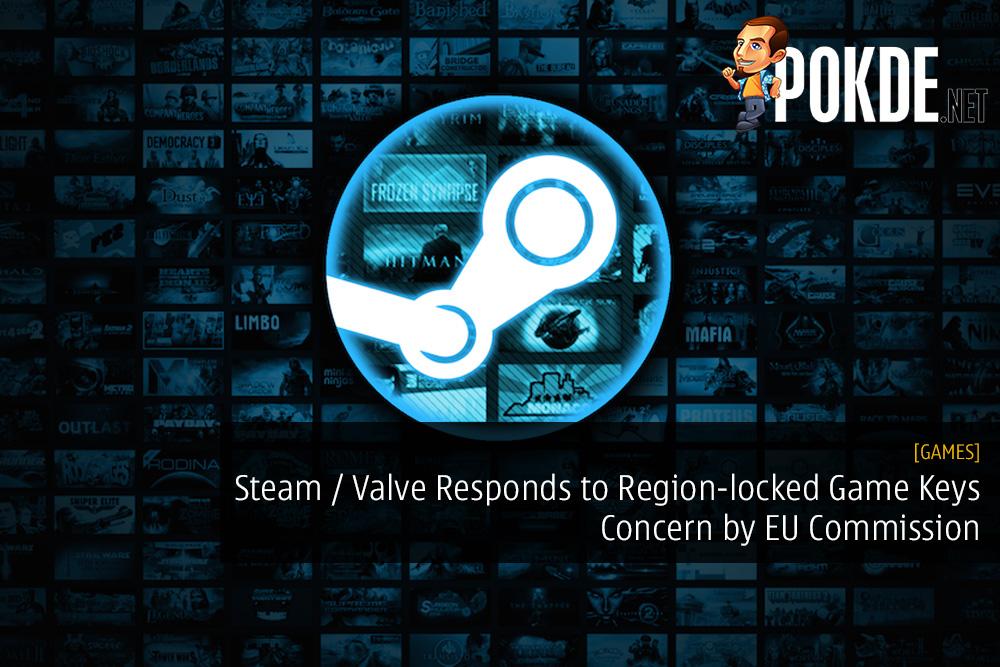 Steam / Valve Responds to Region-locked Game Keys Concern by EU Commission