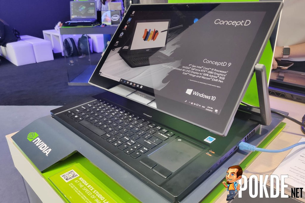 [IFA 2019] Acer's new ConceptD Pro notebooks feature NVIDIA Quadro graphics for the real pros 24
