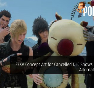 Final Fantasy XV Concept Art for Cancelled DLC Shows Potential Alternate Ending