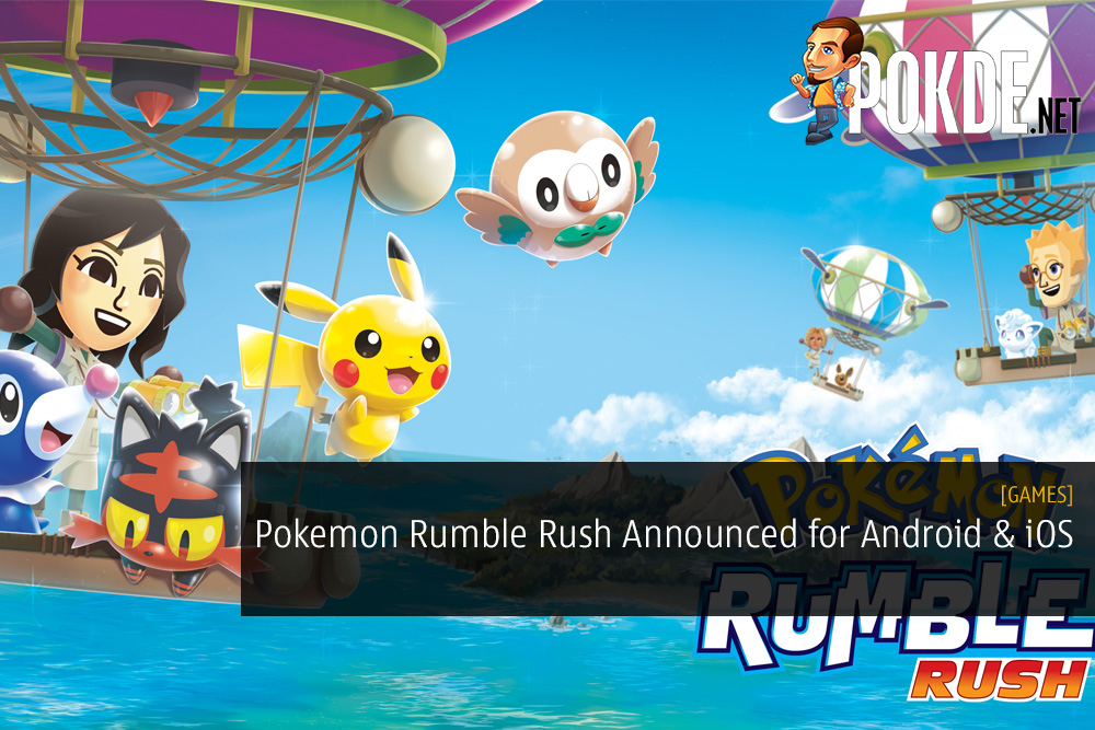 Pokemon Rumble Rush Announced for Android and iOS Devices