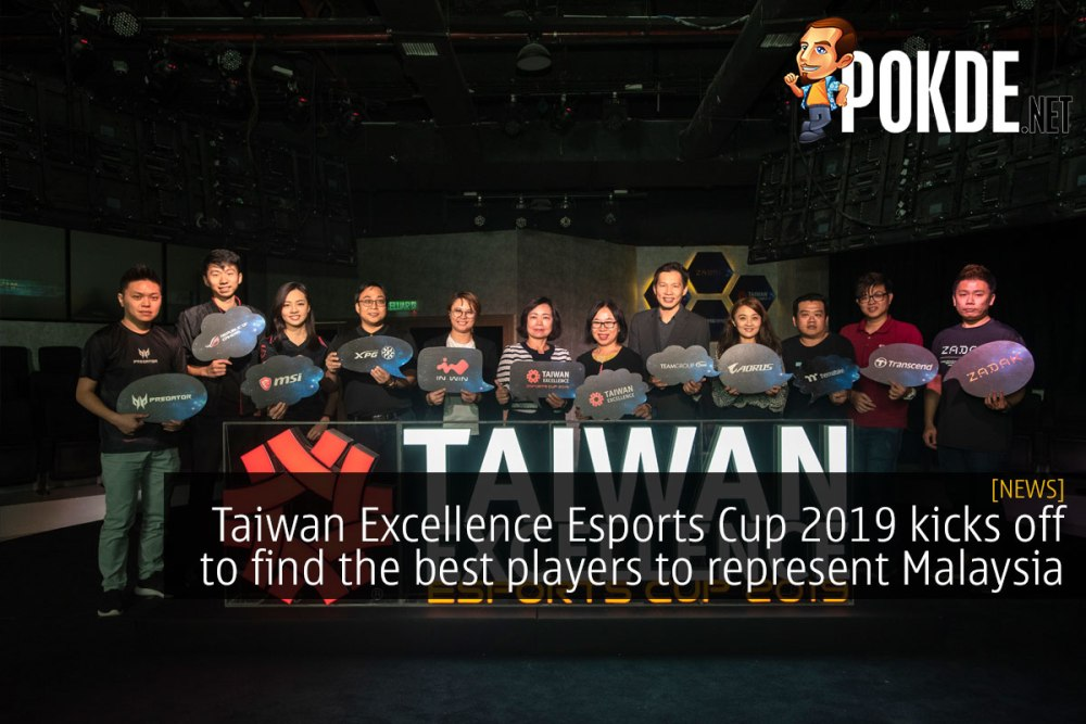 Taiwan Excellence Esports Cup 2019 kicks off to find the best players in various esports titles 27