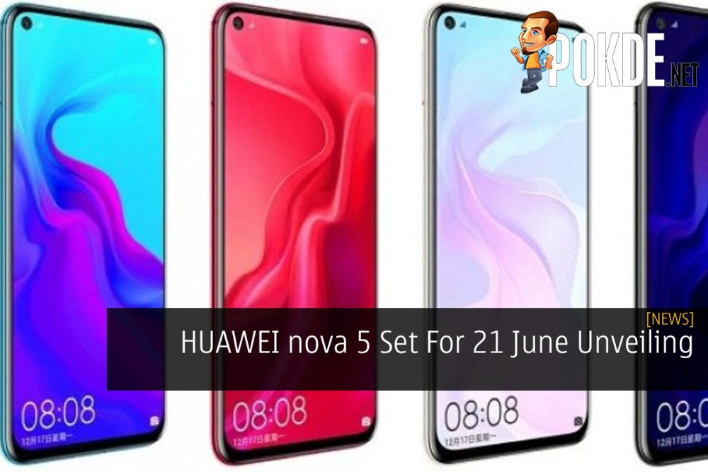 HUAWEI nova 5 Set For 21 June Unveiling 20