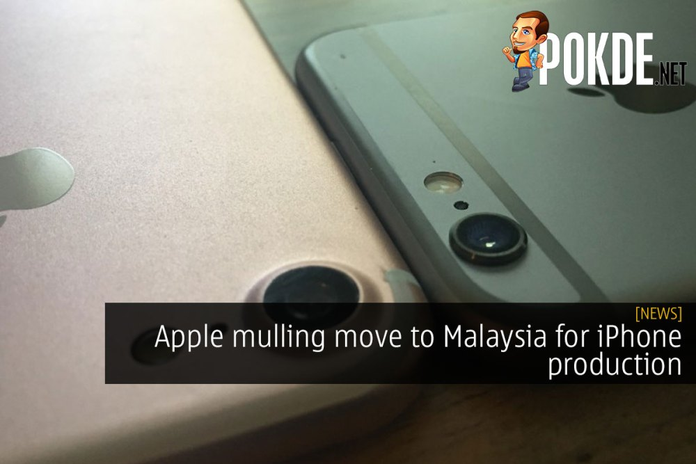 Apple mulling move to Malaysia for iPhone production 23