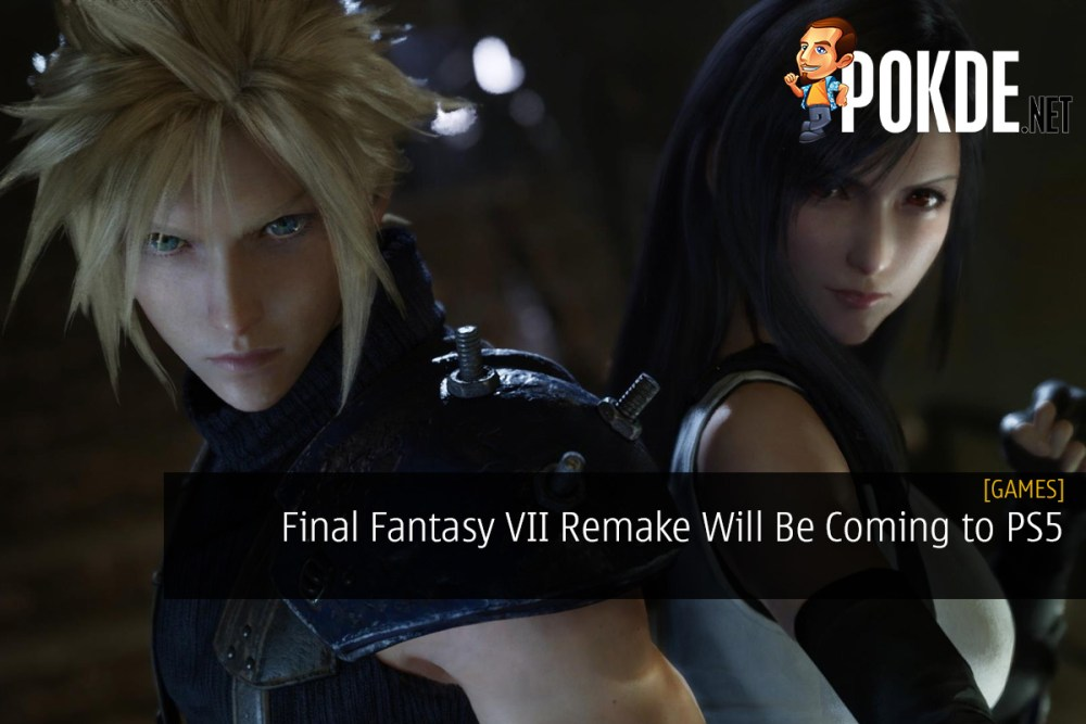 Final Fantasy VII Remake Will Be Coming to PlayStation 5