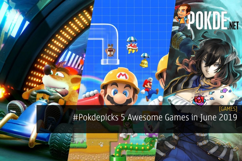 #Pokdepicks 5 Awesome Games to Look Out For in June 2019