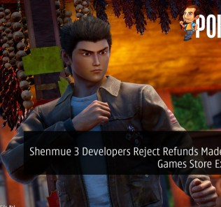 Shenmue 3 Developers Reject Refunds Made for Epic Games Store Exclusivity