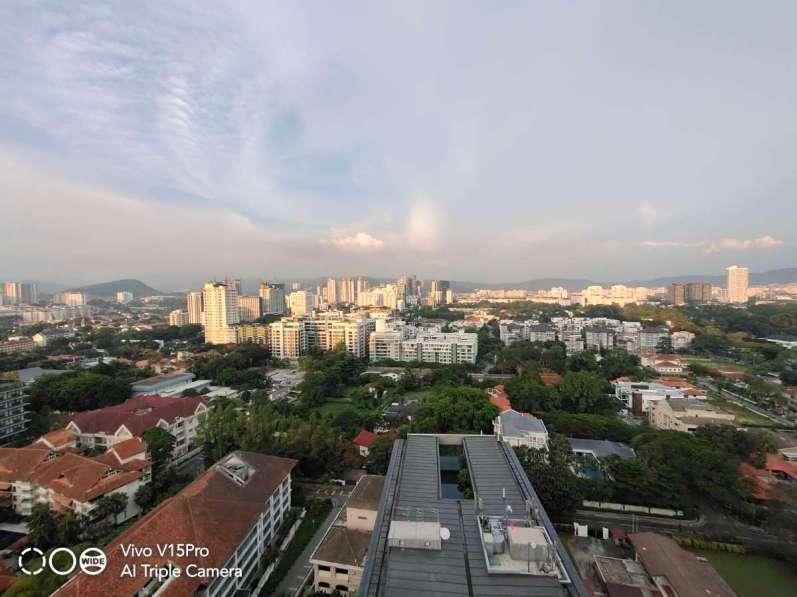 vivo V15 Pro HDR Landscape, ultra wide angle