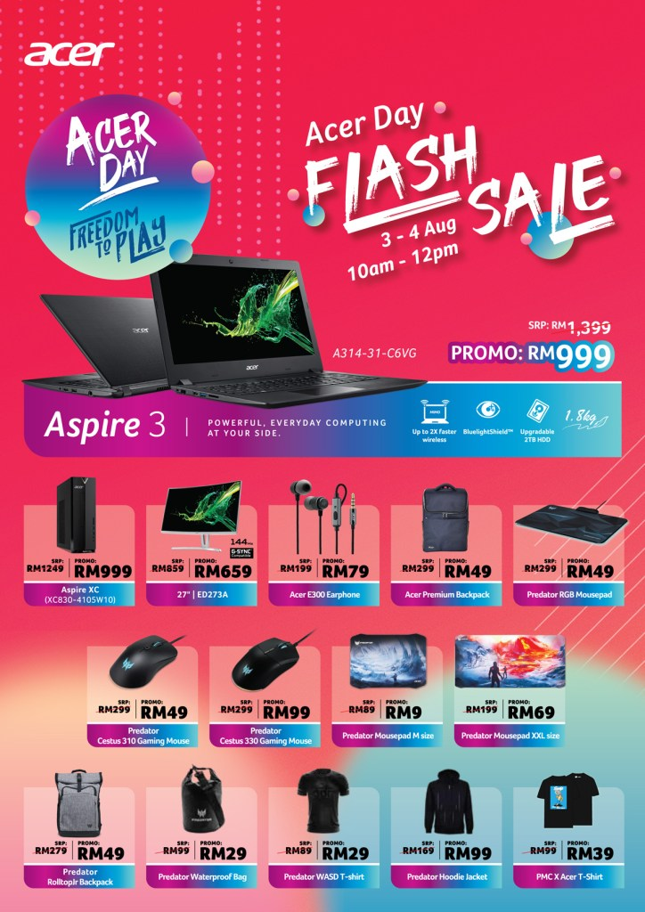 Deals That You Should Look Out For This Acer Day Roadshow 2019! 17