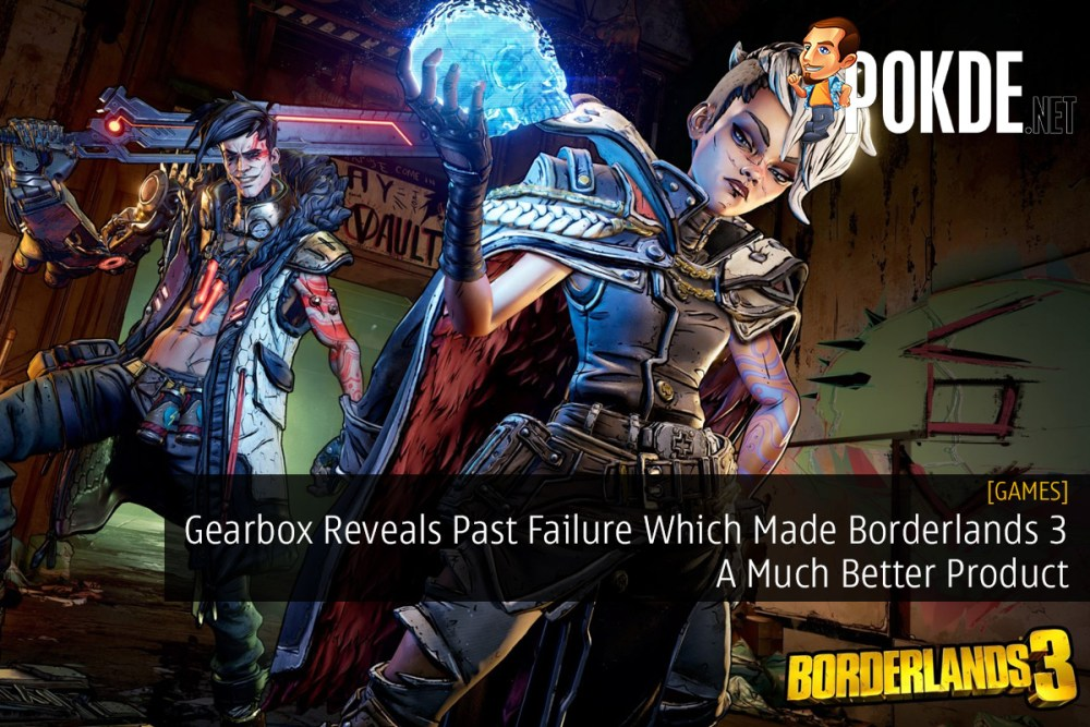 Gearbox Reveals Past Failure Which Made Borderlands 3 A Much Better Product